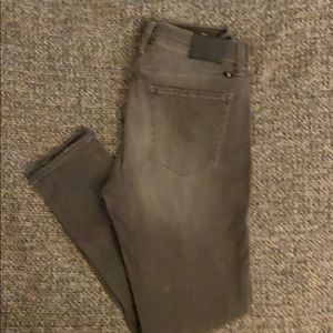 LUCKY BRAND BROOKE LEGGING CHARCOAL SIZE 12/31